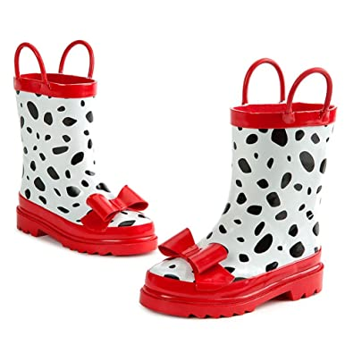 Amazon.com | Disney Store 101 Dalmatians Rain Boots for Girls Size ...