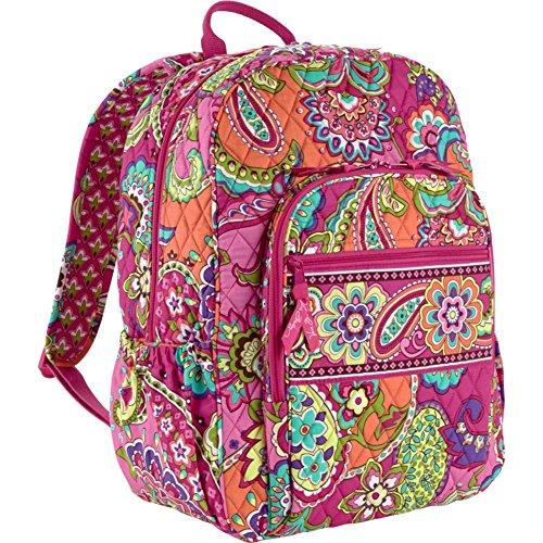 Vera Bradley Campus Backpack (Pink Swirls)