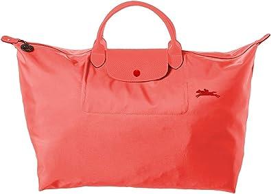 Longchamp Le Pliage Club Large Nylon Travel Bag Grenade Pink ...