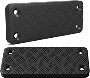 Frontnew Gun Magnet Mount Holder 2 Pack, 55 lb Rating Rubber Coated Magnetic Gun Mount,Precision Quickdraw Gun Magnet Pad for Safe,Car,Wall,Truck,Nightstand