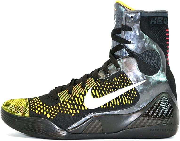 promo code 970b5 c4e7e Amazon.com | Nike Kobe IX Elite (Inspiration) Black/White ...