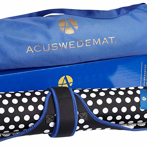 Acuswede Muscle Recovery and Pain Relief Acupressure Mat- Professional Grade w/ 14,000 points | Large Surface Provides Deep Muscle Recovery (Carry Bag Included) by Acuswede (Image #7)