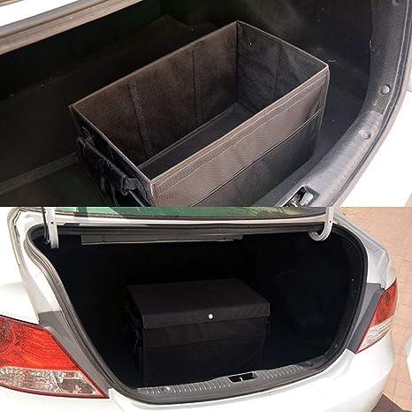 Organizador de maletero de coche con tapa, placa de partición de ...