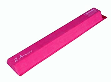 Z Athletic Gymnastics Attachable Training Low Beam (2 Count), Pink