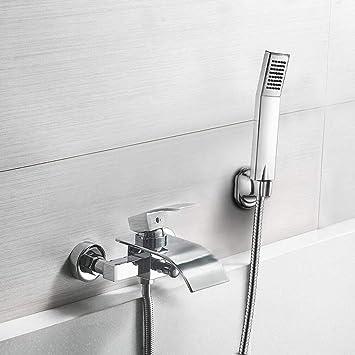 Berühmt BONADE Duschset Regendusche Chrom Duscharmatur Wasserfall FC45