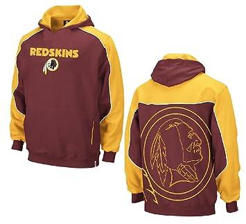 Amazon.com   Reebok Washington Redskins Youth Crimson Arena Hoody ... c18bd1c8e