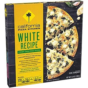 California Pizza Kitchen, Crispy Thin Crust White Frozen Pizza, 13.4 ...
