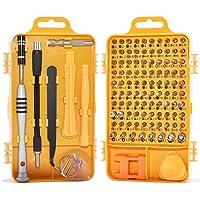 AMERTEER 109 Pcs Set Tamper Proof Torx Spanner Screwdriver Star Hex Holder Rod for Professional Fixing PS4/Computer/Smartphone/Laptops/Xbox/Tablets/Camera/Toy