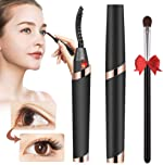 Heated Eyelash Curler Electric USB Rechargeable Quick Heating Long Lasted Curled
