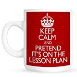 Teachers Lesson Plan Mug