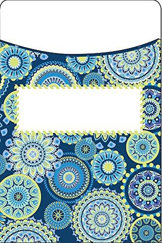 Eureka Library Pockets -Blue Harmony -