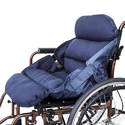 Cojín de la comodidad cojín de silla de ruedas suave ayuda a ...