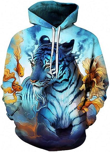 3D Hoodies Sweatshirt Men Women Hoodies Fashion Streetwear Pullover Animal Hoodie