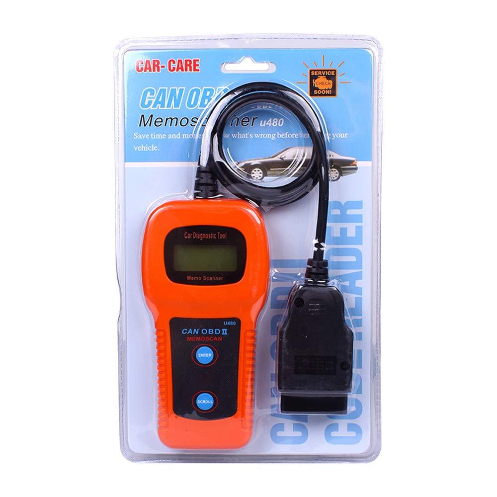 U480 Car Diagnostic Tool OBD2 OBDII EOBD CAN-Bus Auto MEMO Scanner Engine Code Reader