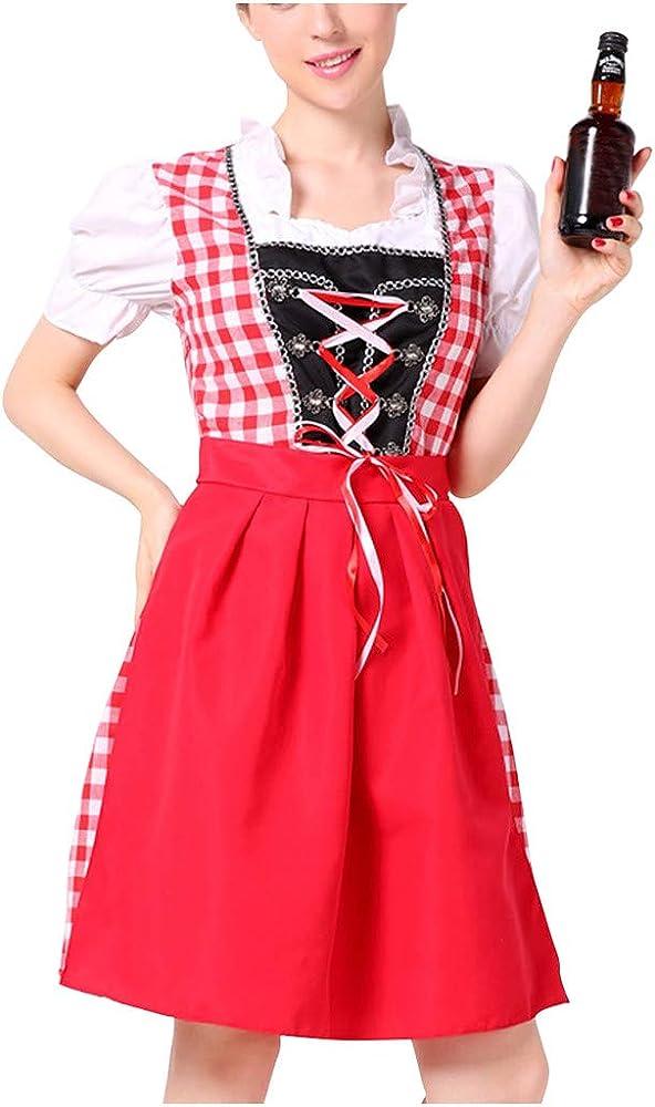 Goosun Dirndl Mimi Traje Tradicional de Tirolesa Vestido Moda ...