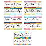 Creative Teaching Press Painted Palette Cursive Handwriting Alphabet Bulletin Board (7056)