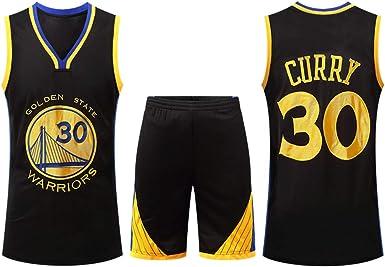 DERTL para los fanáticos de # 30 Stephen Curry Golden State Warriors Baloncesto Jersey Niños Adolescentes Adultos Ropa Deportiva Camisa Chaleco Top Summer Shorts Hombre Mujer Camiseta: Amazon.es: Ropa y accesorios