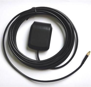 AMSAMOTION Antena GPS MMCX Mitac Mio C510 C520 C523 C525 C620 ...