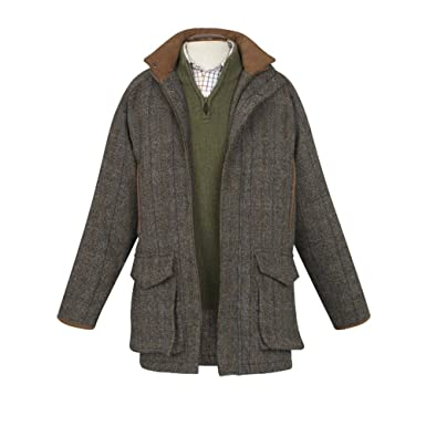 Saxa Vord Harris Tweed Shooting Jacket - 46R: Amazon.co.uk: Clothing