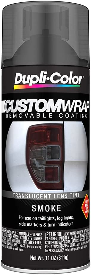 Dupli-Color ECWRC8157 Custom Wrap Lens Tint Smoke