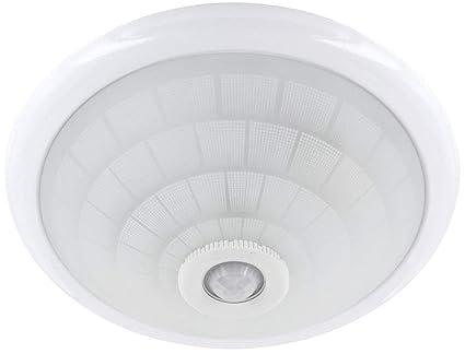 Plafoniera Con Sensore Di Movimento : Lampada da soffitto e con ir rilevatore di movimento a °