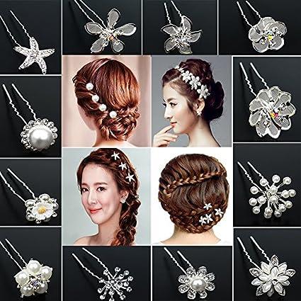 af333534e0aa Los nuevos china tocado de la novia horquilla de pelo tenedor de tipo pin  plato hecho