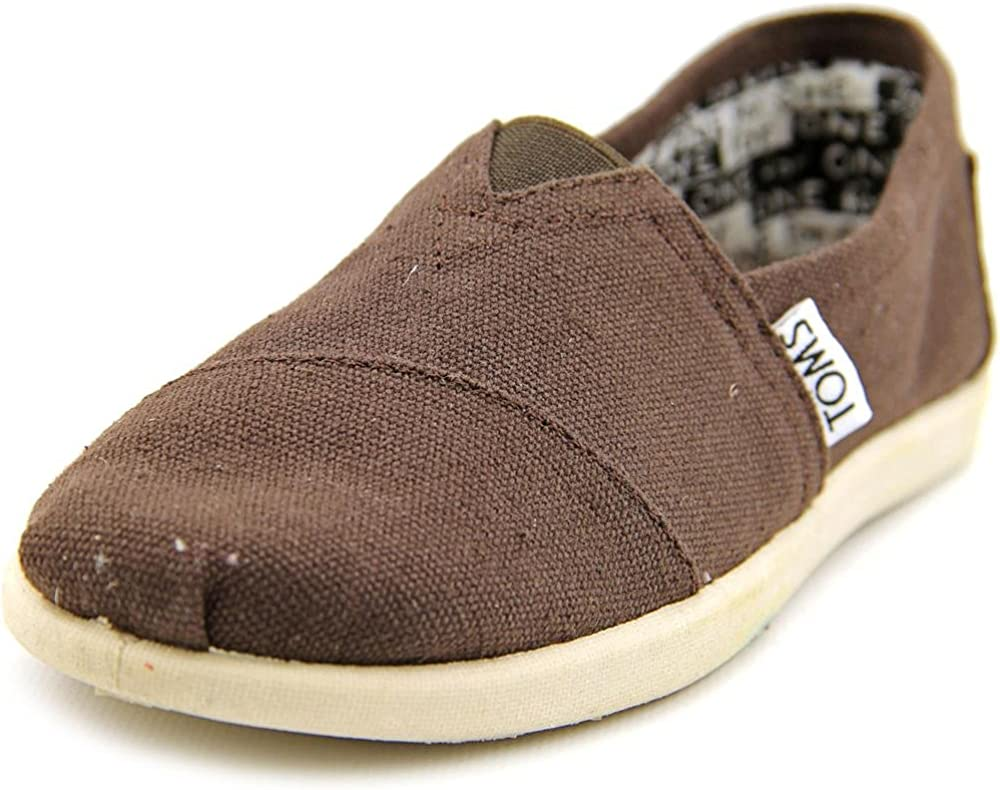 TOMS Chocolate Brown Canvas Classic