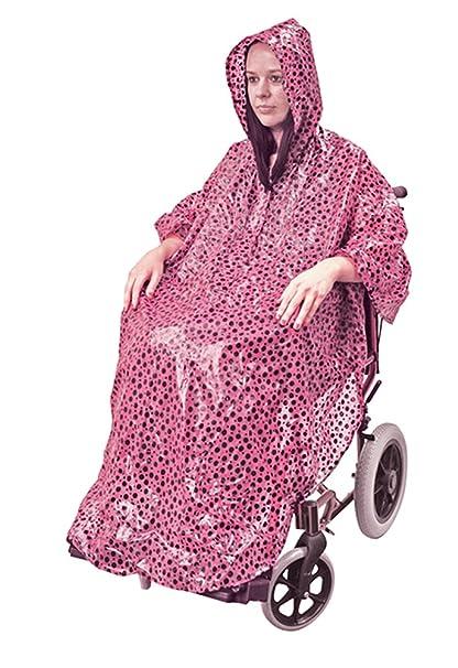 Aidapt VA127CP: chubasquero para silla de ruedas.