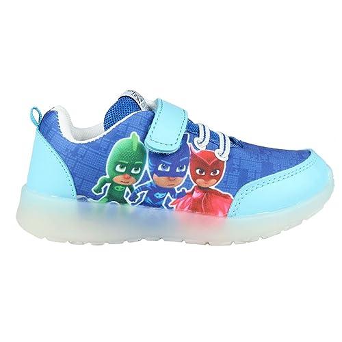 PJ Masks Héroes en pijamas Zapatillas Deportiva - Para Niño - 22-3097 [Azul