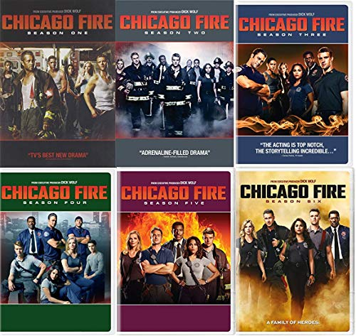 Chicago Fire Seasons 1-6