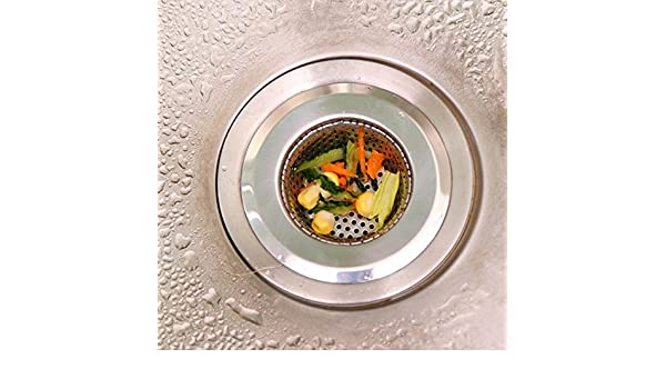 kitchenhero fregadero colador - Acero inoxidable, grandes borde ...
