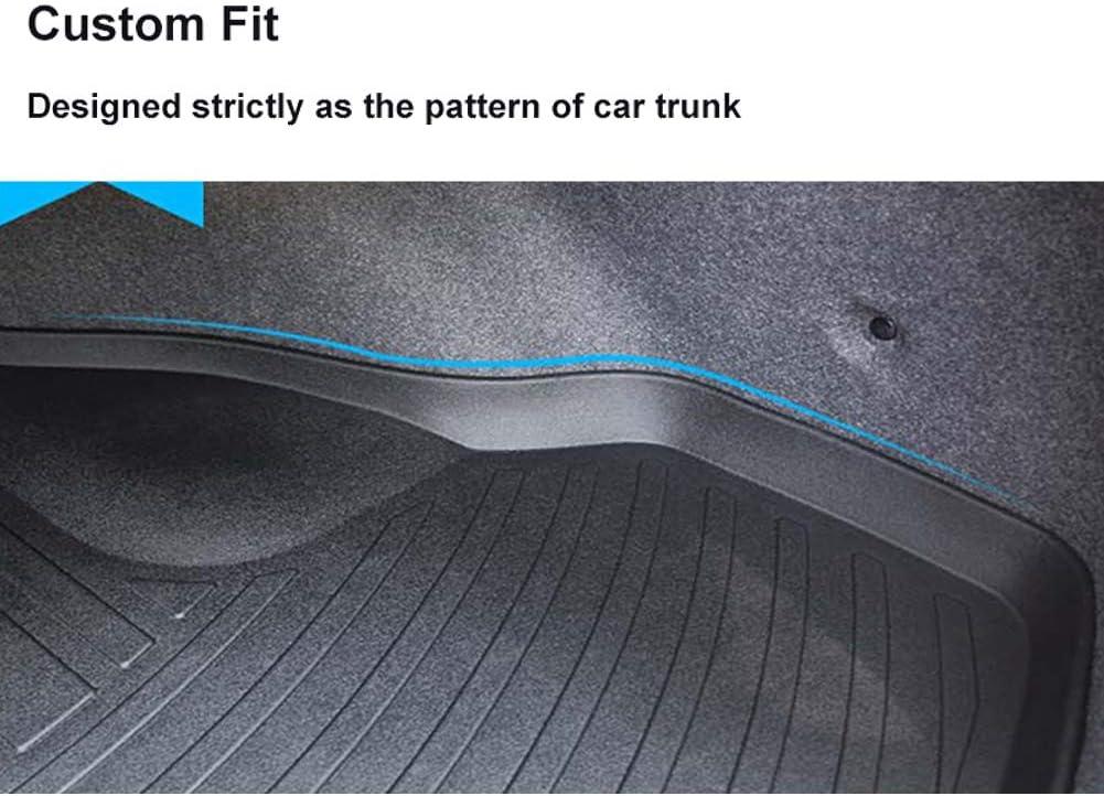 LFOTPP Kodiaq RS Tapis de Coffre en Caoutchouc Original TPO 3D Bord Haut