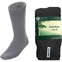 12 Pairs BAMBOO SOCKS Men's Heavy Duty Premium Thick Work Socks Cushion BULK New