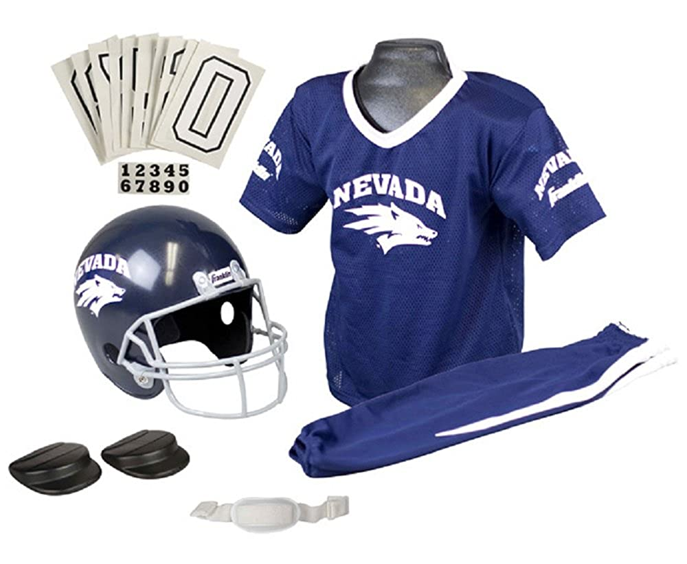 huge discount 98072 2e3b5 Franklin Sports NCAA Nevada Wolfpack Deluxe Youth Team Uniform Set Small