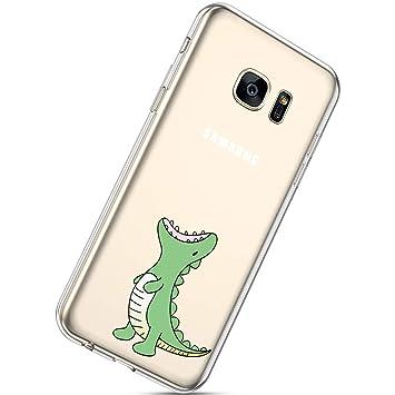 Herbests Funda para Galaxy S7 Edge, Galaxy S7 Edge Móvil ...