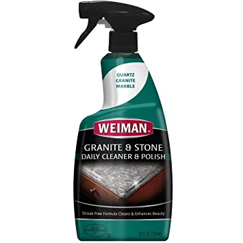 Weiman Granite Cleaner U0026 Polish   Daily Use, Streak Free Formula For  Countertops,