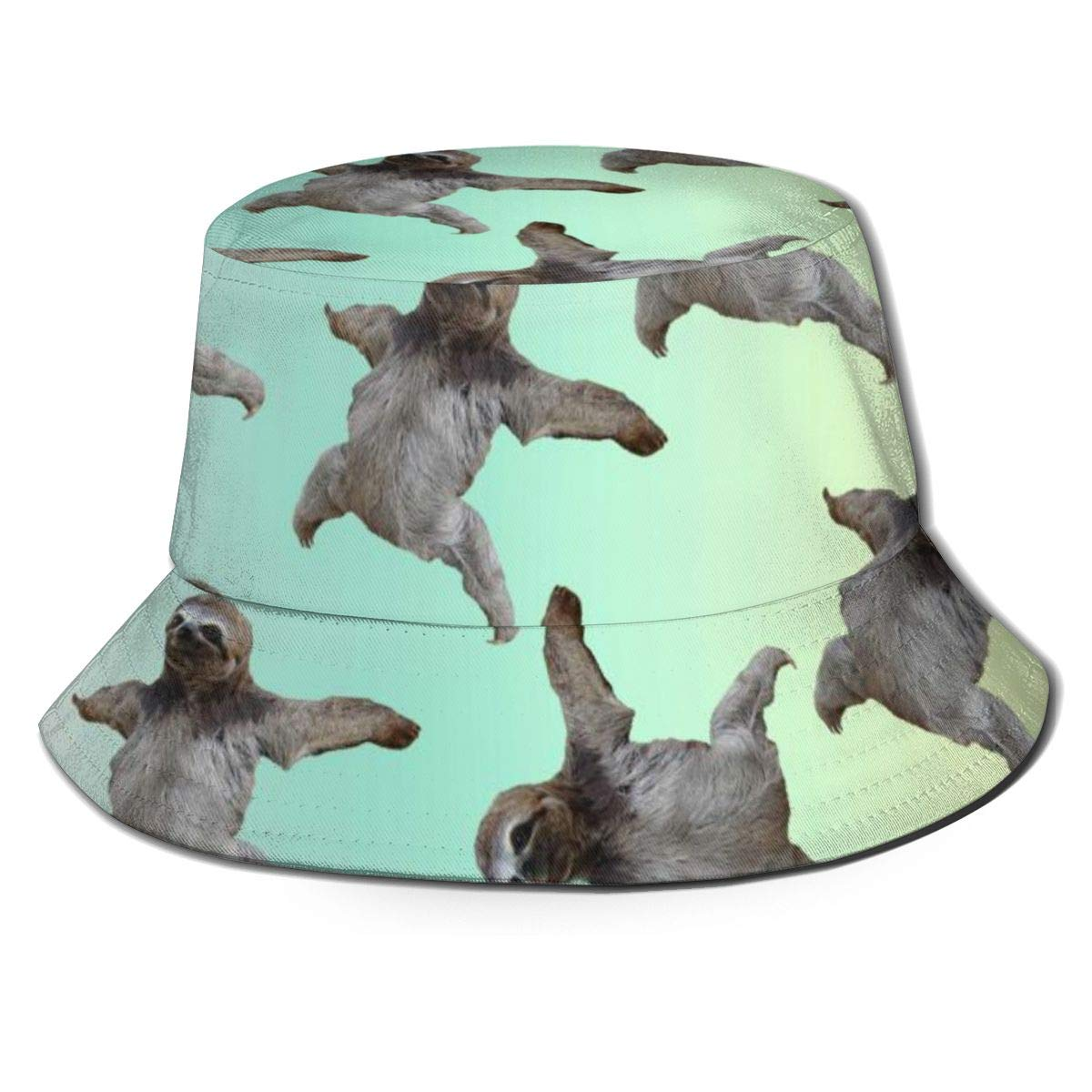Stretch Mesh Back Trucker Hat for Unisex Ry71@Cap Boys and Girls 100/% Polyester Funny Fly Sloth Mesh Hat
