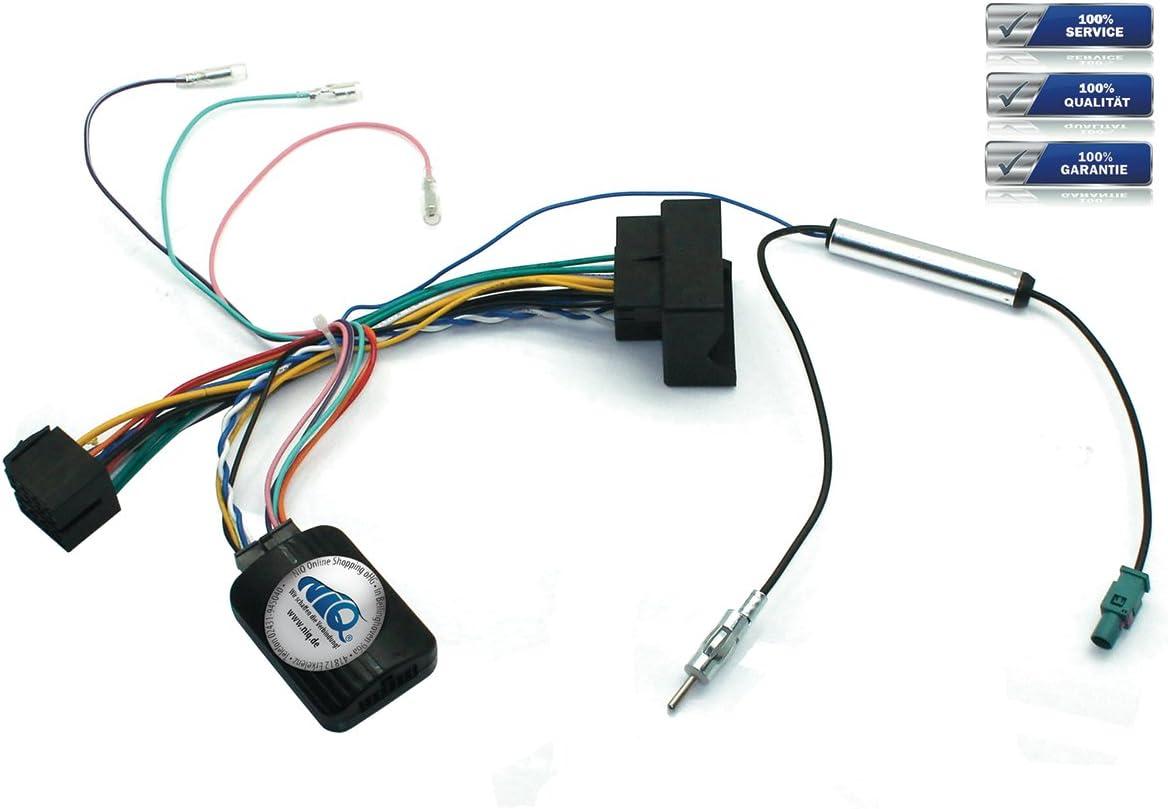 Pioneer Volante Interfaz de control remoto Incluye Fakra de antena conector Peugeot 207/208/307/407/807 uvm.