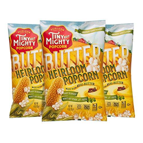 popped butter popcorn - 9