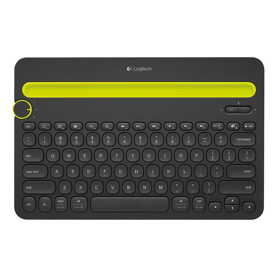 Logitech Bluetooth Multi-Device Keyboard K480 for Computers. Tablets and Smartphones. Black - 920-006342 (Certified Refurbished) by Logitech