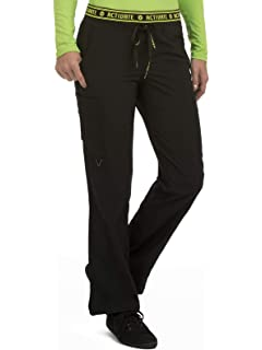 f441d32fd7f Med Couture Activate Scrub Pants Women, Flow Yoga 2 Cargo Pocket Pant
