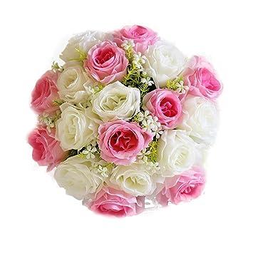 Amazon De Tpulling 18head Verfeinerung Kunstliche Blumen