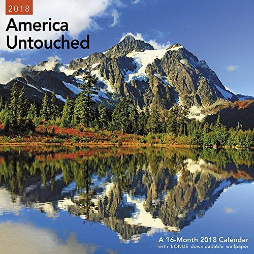 2018 America Untouched Wall Calendar (Mead)