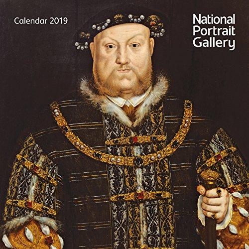 National Portrait Gallery - mini wall calendar 2019 (Art Calendar)