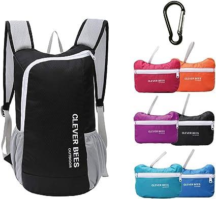 Foldable Waterproof Backpack Hiking Shoulder Bag Camping Travel Sport Day Pack
