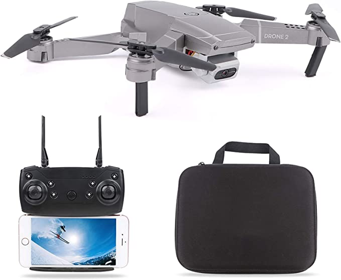APP Control,3D Flip,Speed Adjustment,One Key Start,Altitude Hold Foldable Arms Blue Rofusn FPV RC Drone with 1080P HD Wi-Fi Camera Live Video2.4GHz 6-Axis Gyro 4 Channels Quadcopter