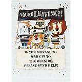 Hallmark Leaving Card 'Please Send Help' - Large