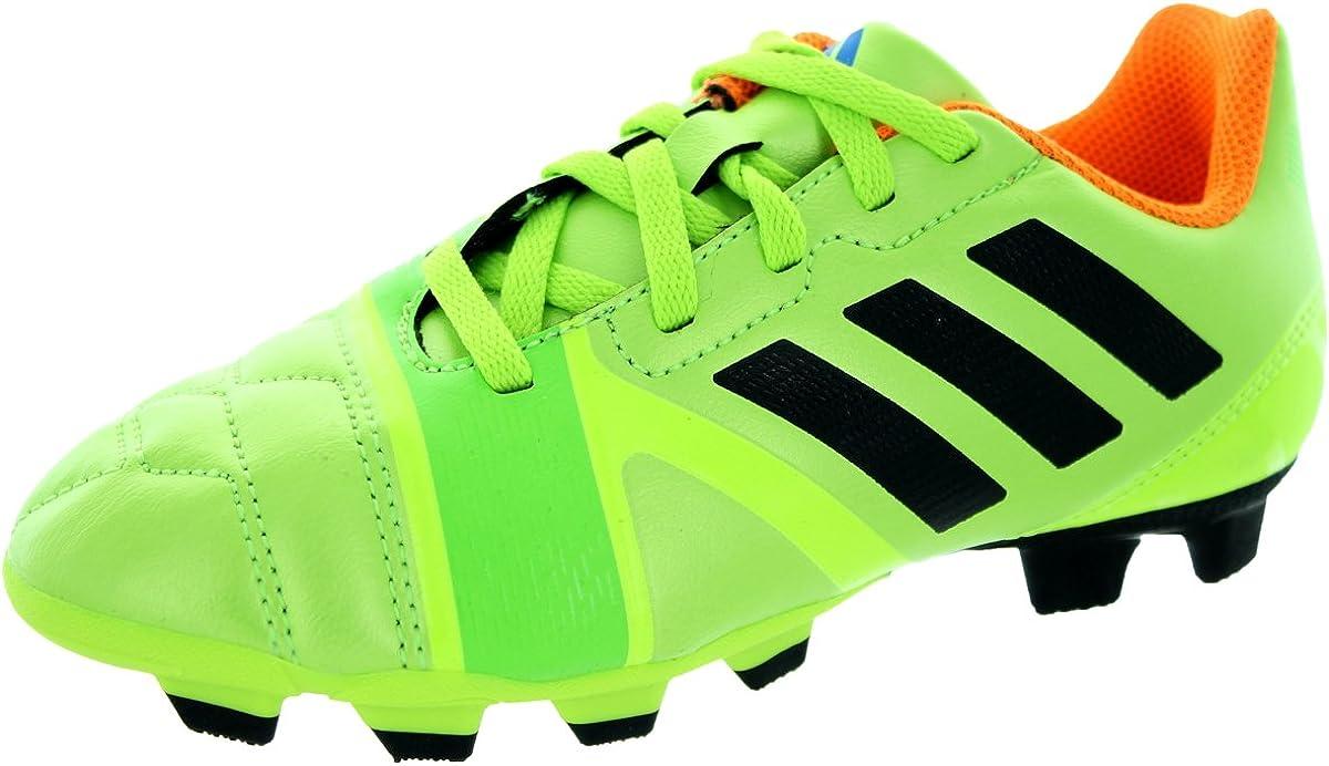 adidas Kids Soccer Shoes Nitrocharge 3 TRX FG Cleats (11K) Green 61C0cVsxbSL