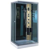 CABINE DE DOUCHE HYDROMASSANTE Modele Taormina 100 x 70 cm SPA BAIN HYDROMASSAGE ouverture à gauche NOUVELLES LIVRAISON RAPIDE