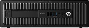 HP ProDesk 600 G1 Small Form Factor (SFF) Business Desktop Computer, Intel Pentium G3420 Processor 3.2GHz, 8GB RAM, 128GB SSD, USB 3.0, Windows 10 Professional (Renewed)